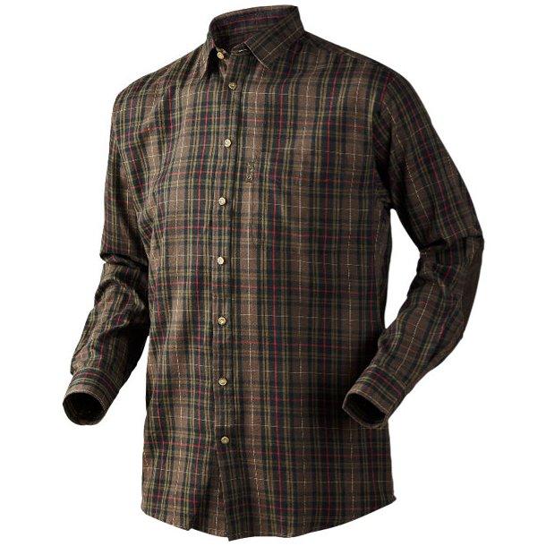 Seeland Pilton Skjorte Faun Brown Check