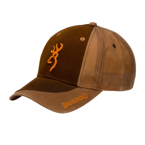 Image of Browning Two Tone Cap Dark Brown ONE SIZE