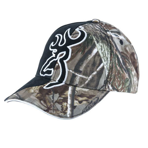 Image of Browning Cap Big Buckmark Black Extra ONE SIZE