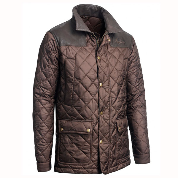 Image of   Chevalier Bramley Quilted Coat Brown M