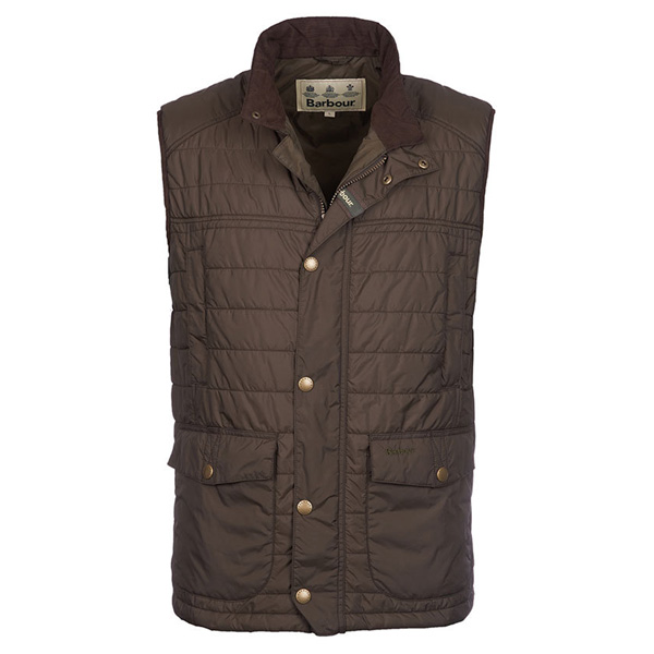 Image of Barbour Explorer Gilet Vest Dark Olive M