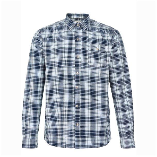 Urban Quest Saxo Shirt Blue Check