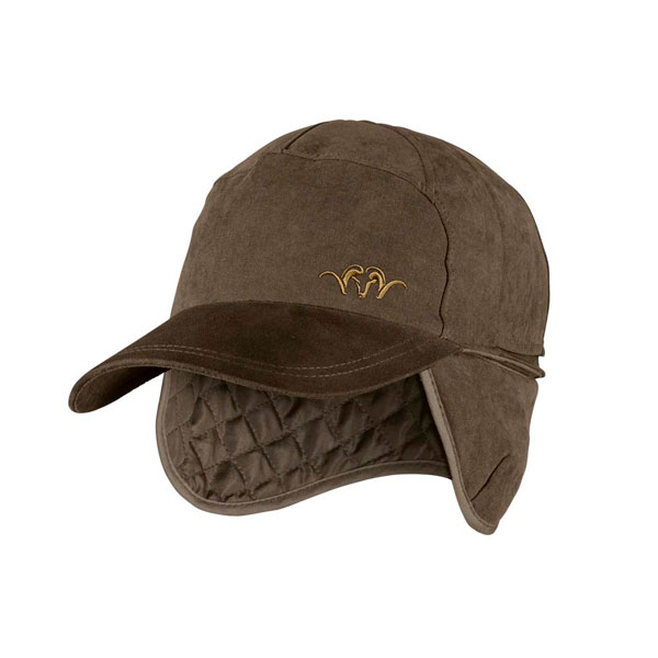 Image of Blaser Argile Reversible Cap Brown/Melange - Orange M