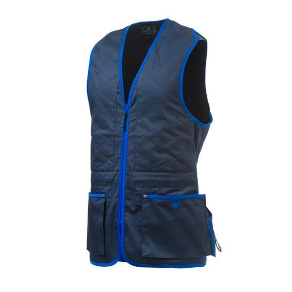 Beretta Trap Cotton Skydevest Blue Navy/Blue Beret S thumbnail