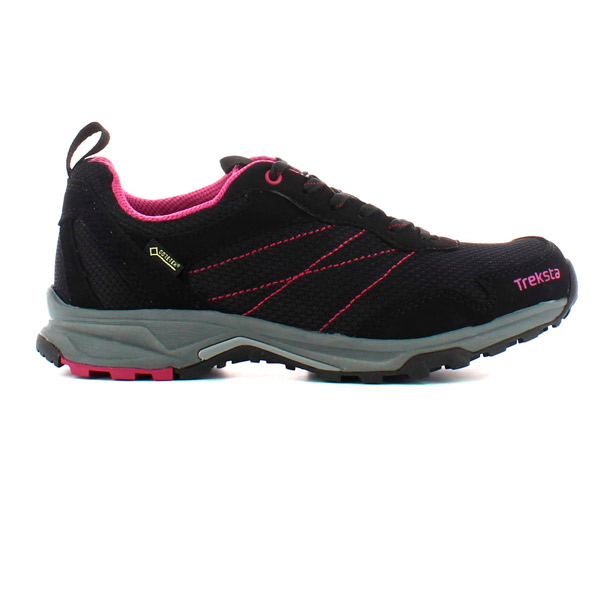 Treksta Star Lace Lady GTX Sko Black/Purple 37 thumbnail