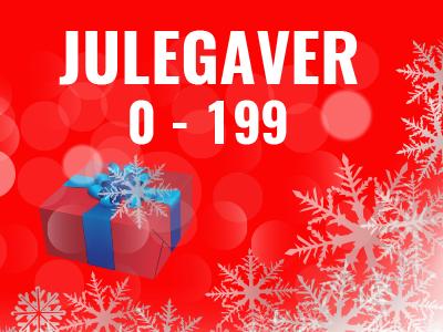 Julegaver 0-199 kroner