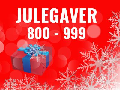 Julegaver 800-999