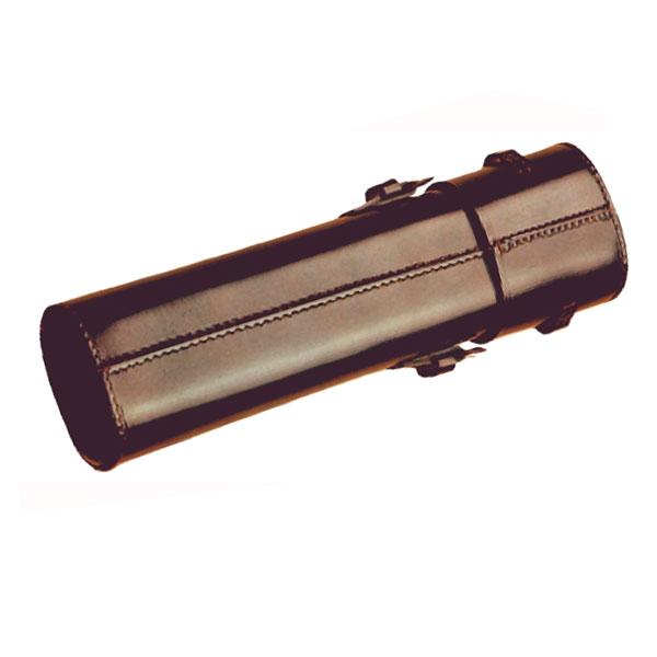 Image of AKAH Etui til Sigtekikkert i brun læder Size 5