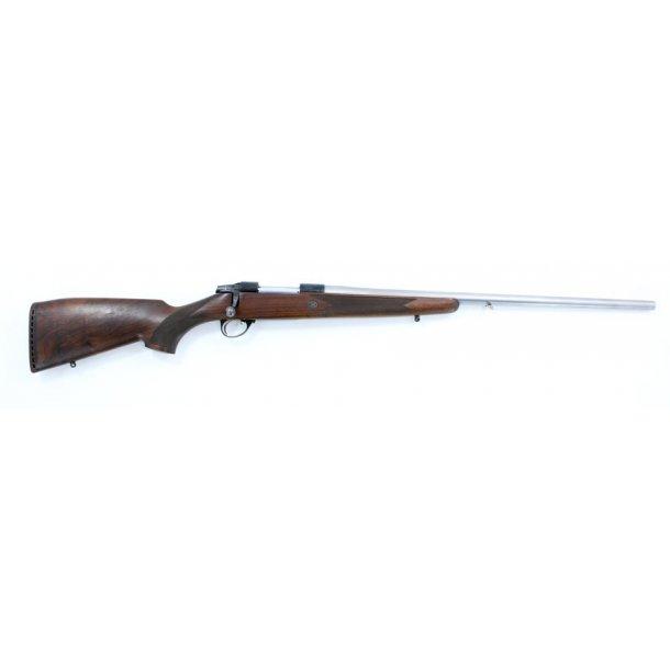 Beretta 243win brugt med rustfrit pibe