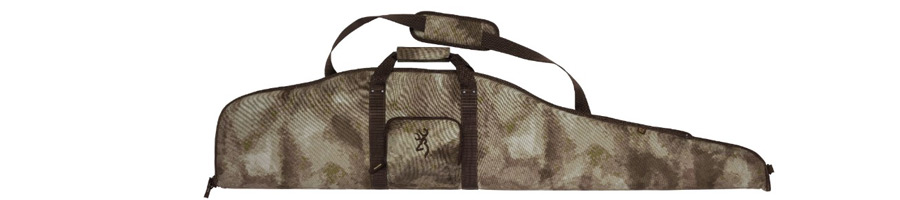 Image of Browning Riffelfoderal Camo Stof 132cm m/Sidelomme