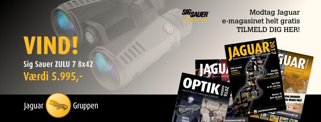 Tilmelding Jaguar Magasinet