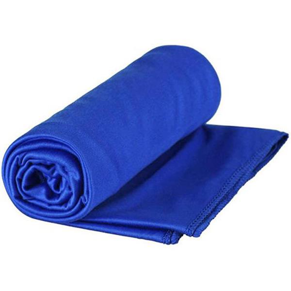 Image of SeaToSummit Pocket Towel L 60x120cm Cobalt Blue - Håndklæde
