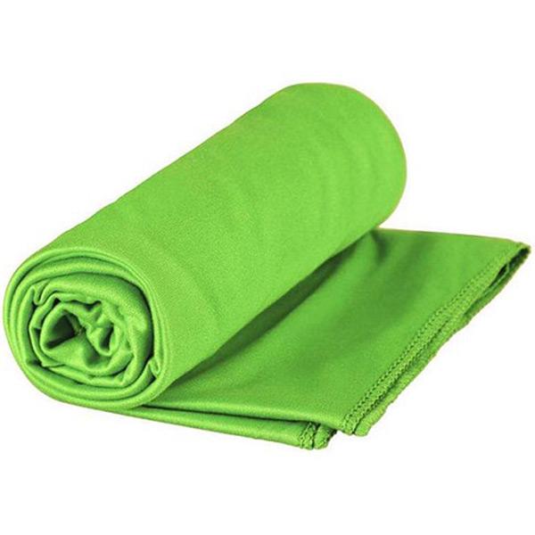 Image of SeaToSummit Pocket Towel L 60x120cm Lime - Håndklæde