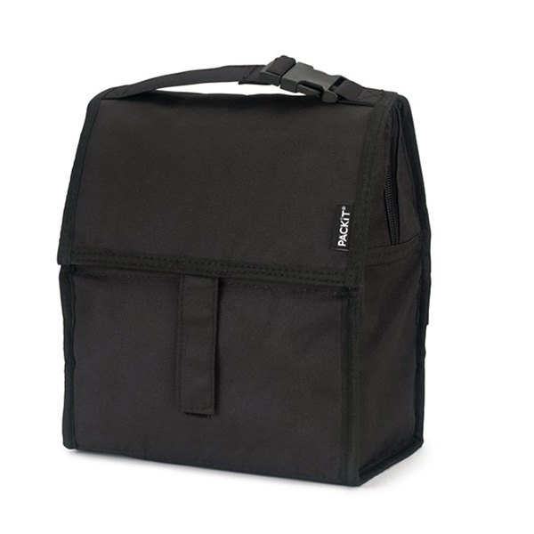 Image of Packit Freezable Lunch Bag - Black 4,4L