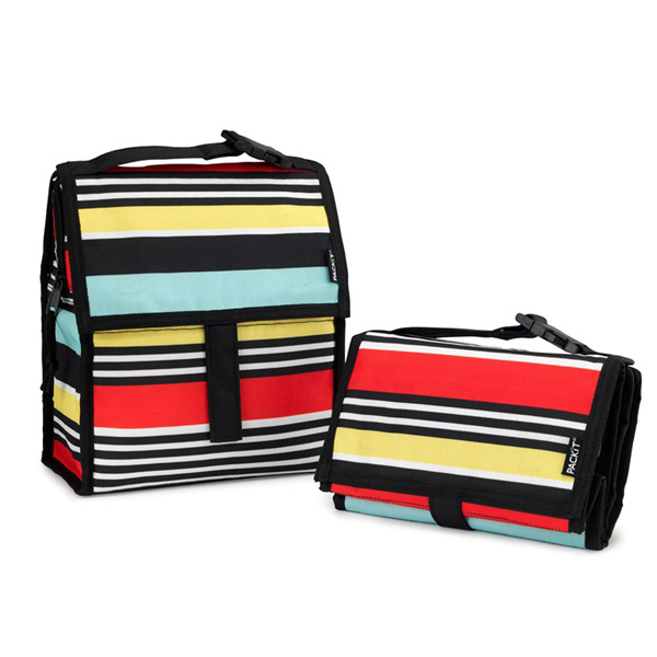 Image of Packit Freezable Lunch Bag - Stripe 4,4L