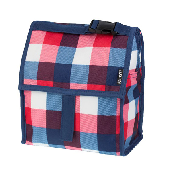Image of Packit Freezable Lunch Bag Buffalo Check - 4,4L