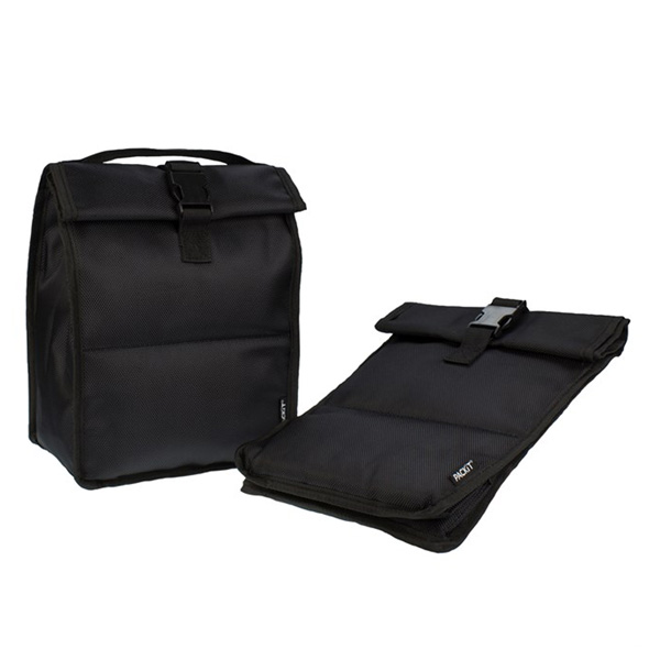 Packit Freezable RollTop Lunch Bag Black - 4,4L thumbnail