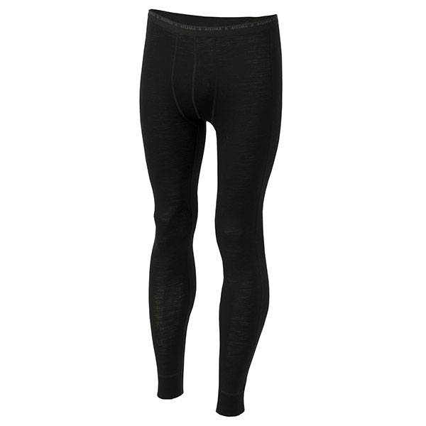 Image of   Aclima Lightwool Long Pants Jet Black XL