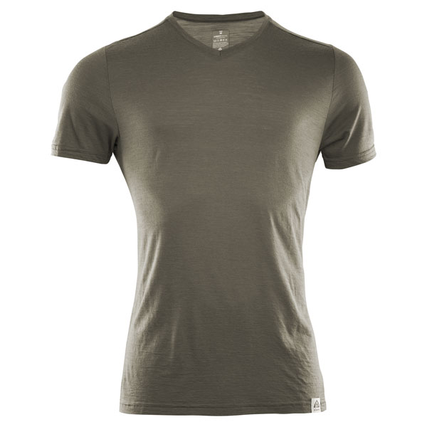 Image of   Aclima Lightwool T-Shirt Ranger Green L