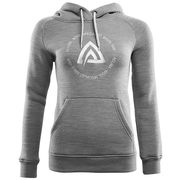 Image of   Aclima Fleecewool Hoodie Woman Fleece Grey Malange L