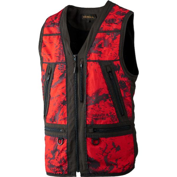Härkila Lynx Safety Vest Red Blaze/Shadow Bro M thumbnail
