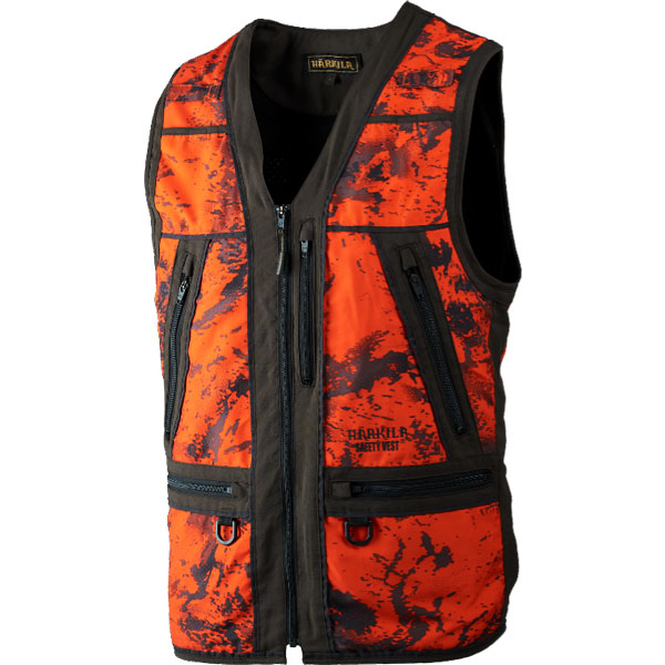 Härkila Lynx Safety Vest Orange Blaze/Shadow 5XL thumbnail