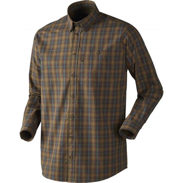 Seeland Kensington LS Skjorte Duffel Green Check