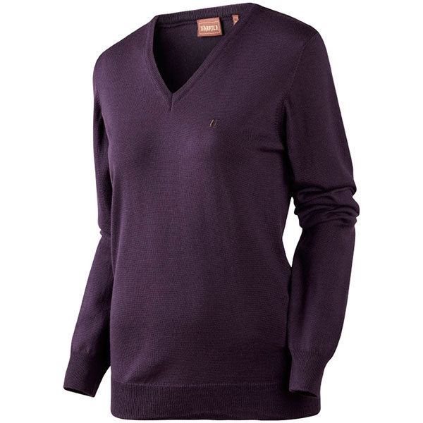 Image of   Härkila Ally Lady Pullover Blackberry Check XXL