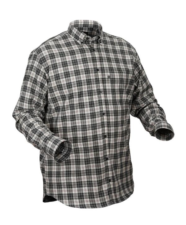 Nordhunt Airdrie Skjorte Black-Grey 45-46 thumbnail