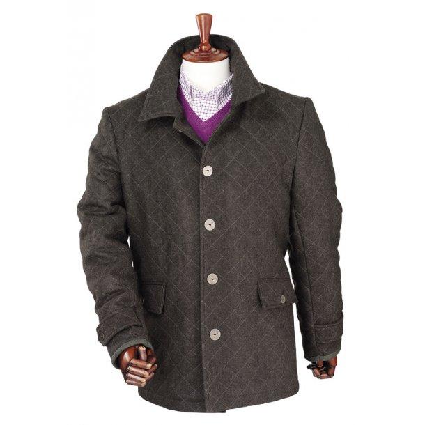 Laksen Zug Loden Coat BRUN