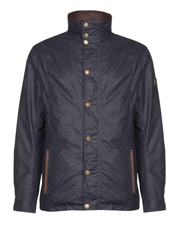 Image of   Dubarry Carrickfergus Wax Cotton Jacket Navy M