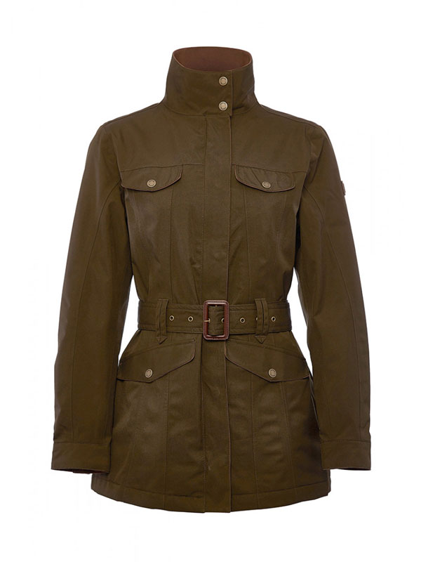 Image of   Dubarry Friel Lady Jacket Olive 34