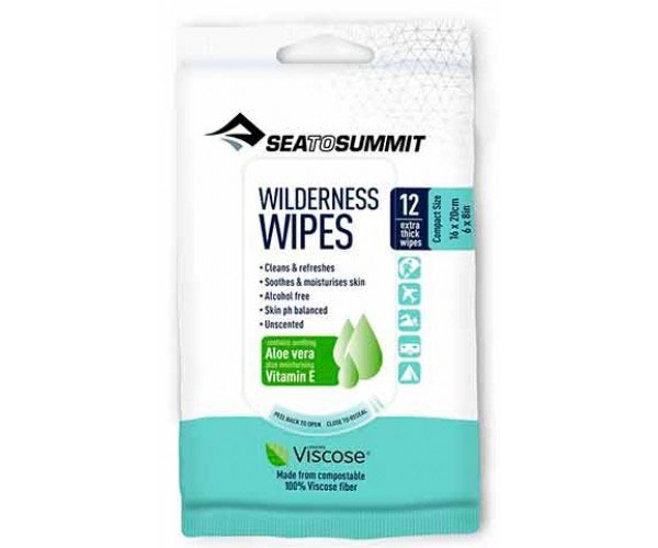 Image of SeaToSummit Wildernes Wipes Compact