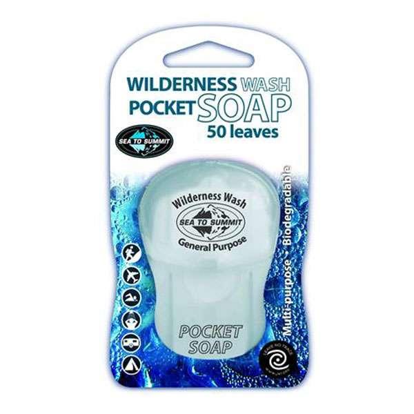 Image of SeaToSummit Wildernes Pocket Soap 50 Blade