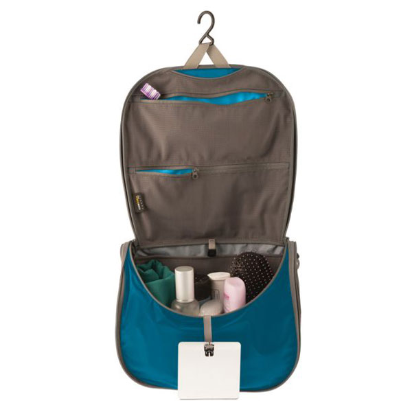 Image of SeaToSummit Hanging Toiletry Bag Small Black/Grey - 22,5x7,5x15,5 cm