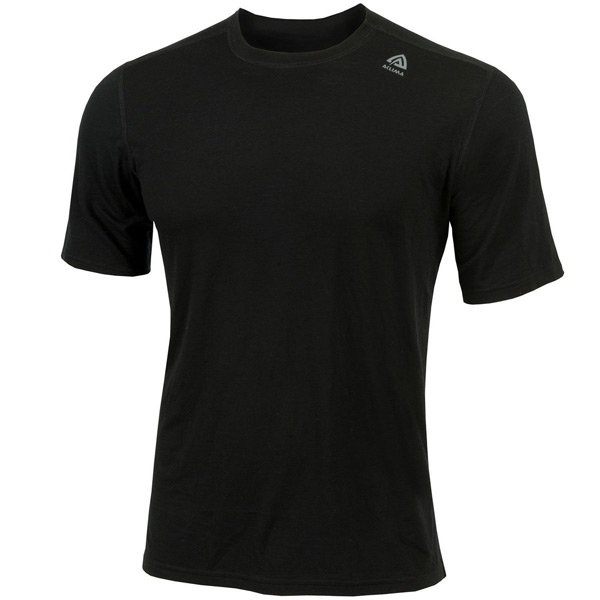 Image of   Aclima Lightwool T-Shirt Classic Jet Black M