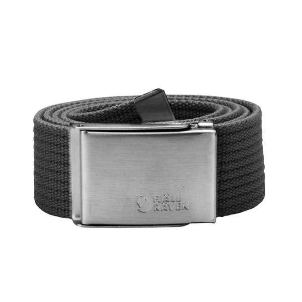 Image of Fjällräven Canvas Belt Dark Grey ONE SIZE