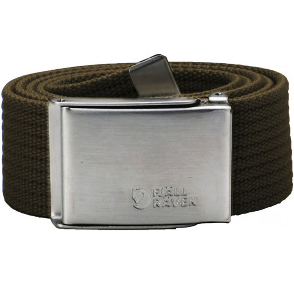 Fjällräven Canvas Belt Dark Olive ONE SIZE thumbnail