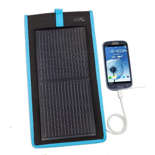Asent Solar Kickr II Oplader 3Watt Blå thumbnail