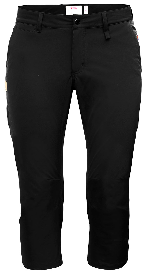 Image of   Fjällräven Abisko Capri Trousers W Black 34