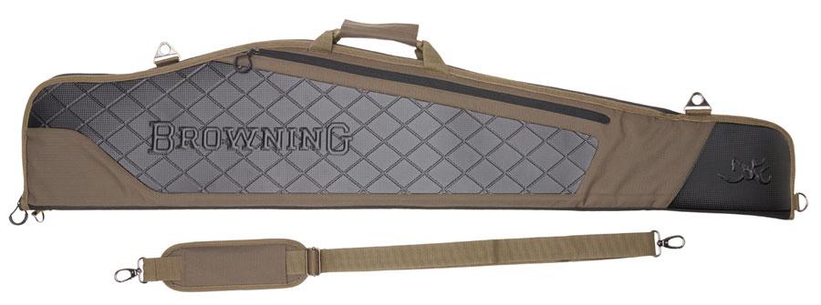 Image of Browning Flex Crossbuck Riffelfoderal 124cm Grøn