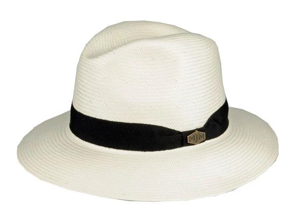 MJM Down Tojo Natural Hat Hvid M thumbnail