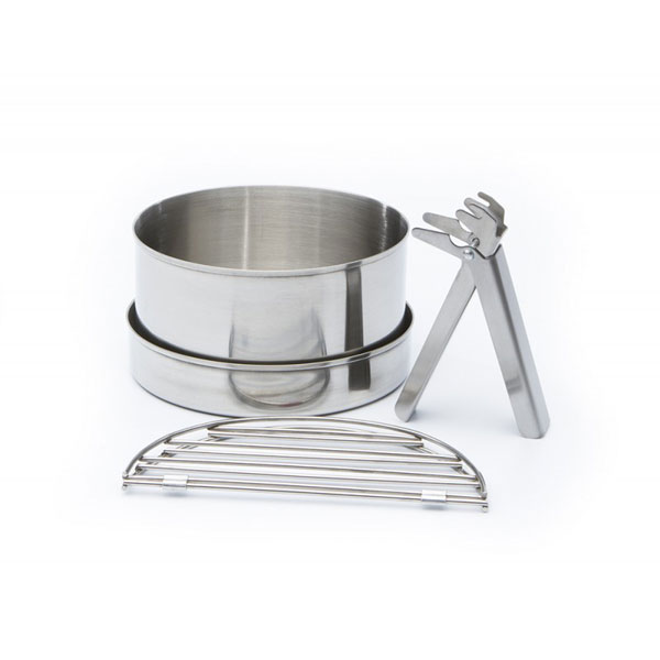Image of Kelly Kettle Cook Set Large Stainless Steel