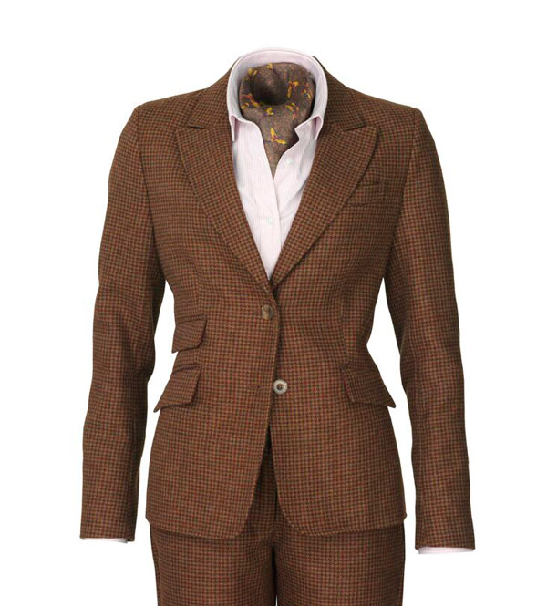 Laksen LE16 Silkewood Dress Lady Jacket Brown M thumbnail