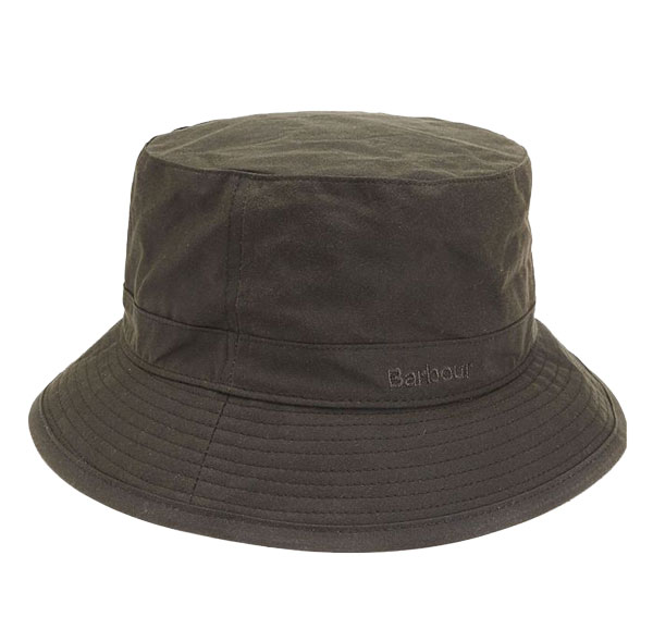 Barbour Wax Sports Hat Olive M thumbnail