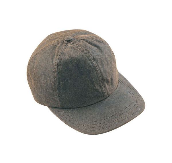 Image of Barbour Wax Sports Cap Dark Olive ONE SIZE