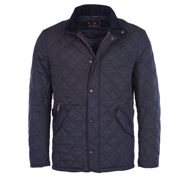 Image of Barbour Chelsea Sportsquilt Navy S