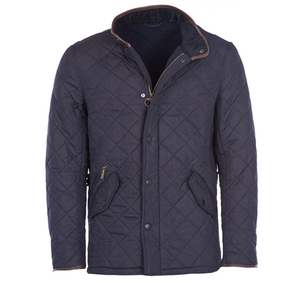 Barbour Powell Quilt Jakke Navy M thumbnail