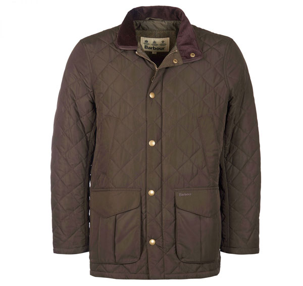 Image of Barbour Devon Jacket Olive M