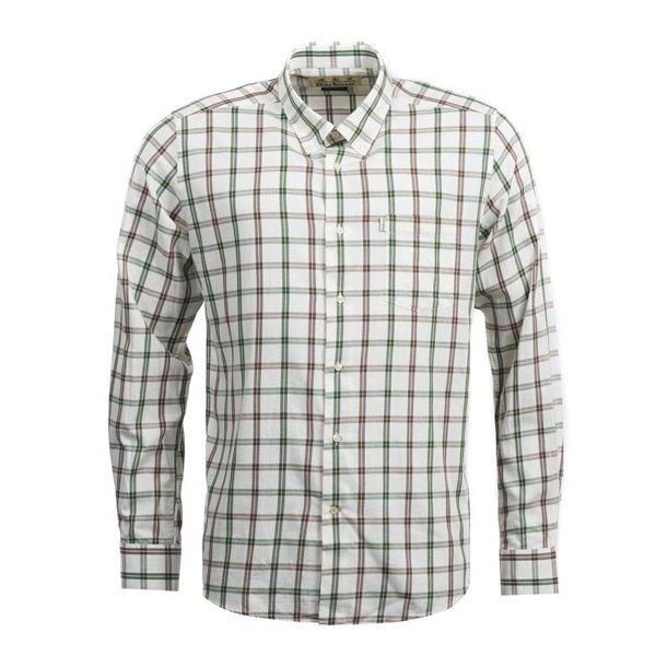 Barbour Keenan Woo Mix Shirt Neutral